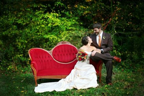 Leah and Daniel's Outdoor Wedding