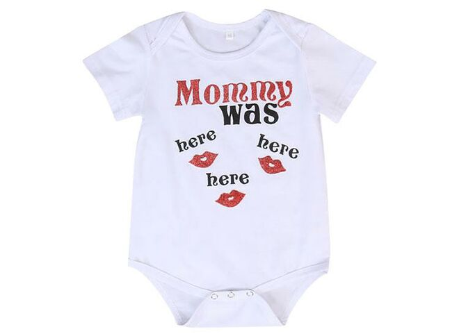 Petite Bello mommy was here bodysuit