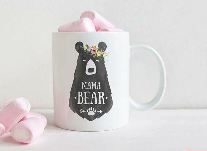 Field trip mama bear mug