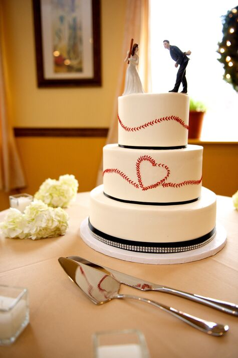 Peter & Renee - baseball and bling