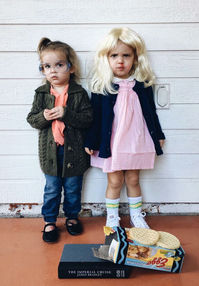 twin-halloween-costumes-stranger-things  sc 1 st  The Bump & 25 Best Twin Halloween Costumes