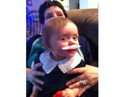 Babies With Mustaches