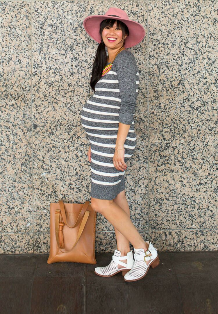 e31c423e8bf Baby Bump Fashion Inspiration from Style Bloggers