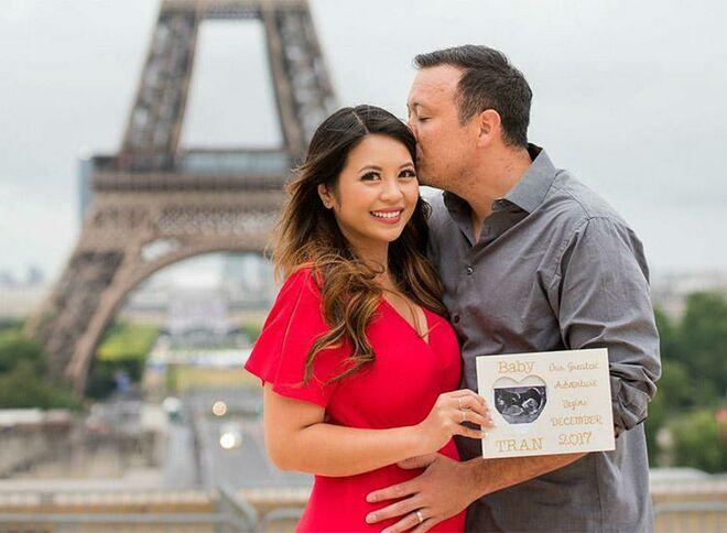 pregnancy-announcement-cute-eiffle-tower