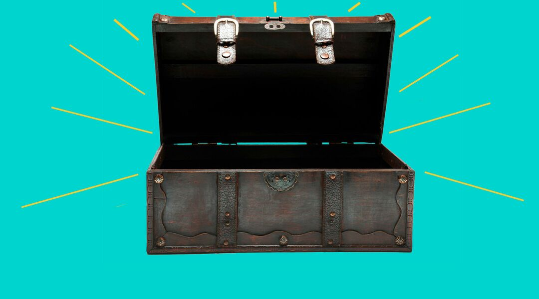 Open Treasure box