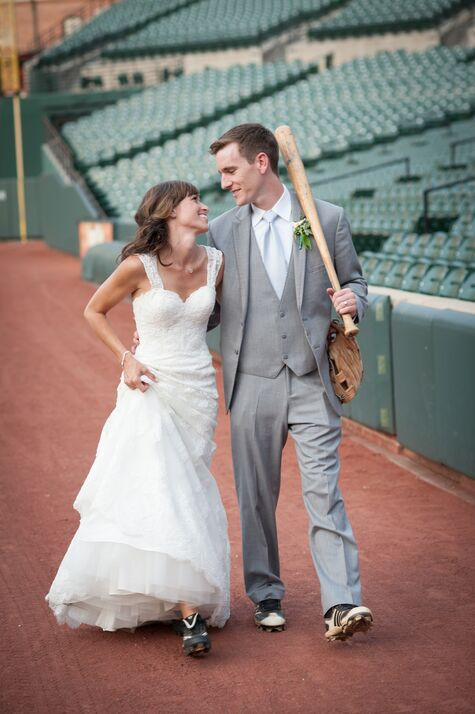 Katie and Scott's Camden Yards Wedding!