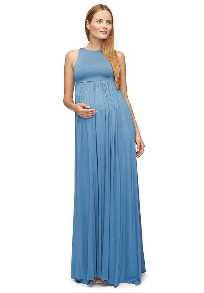 Rachel Pally Long Maternity Dress For Baby Shower