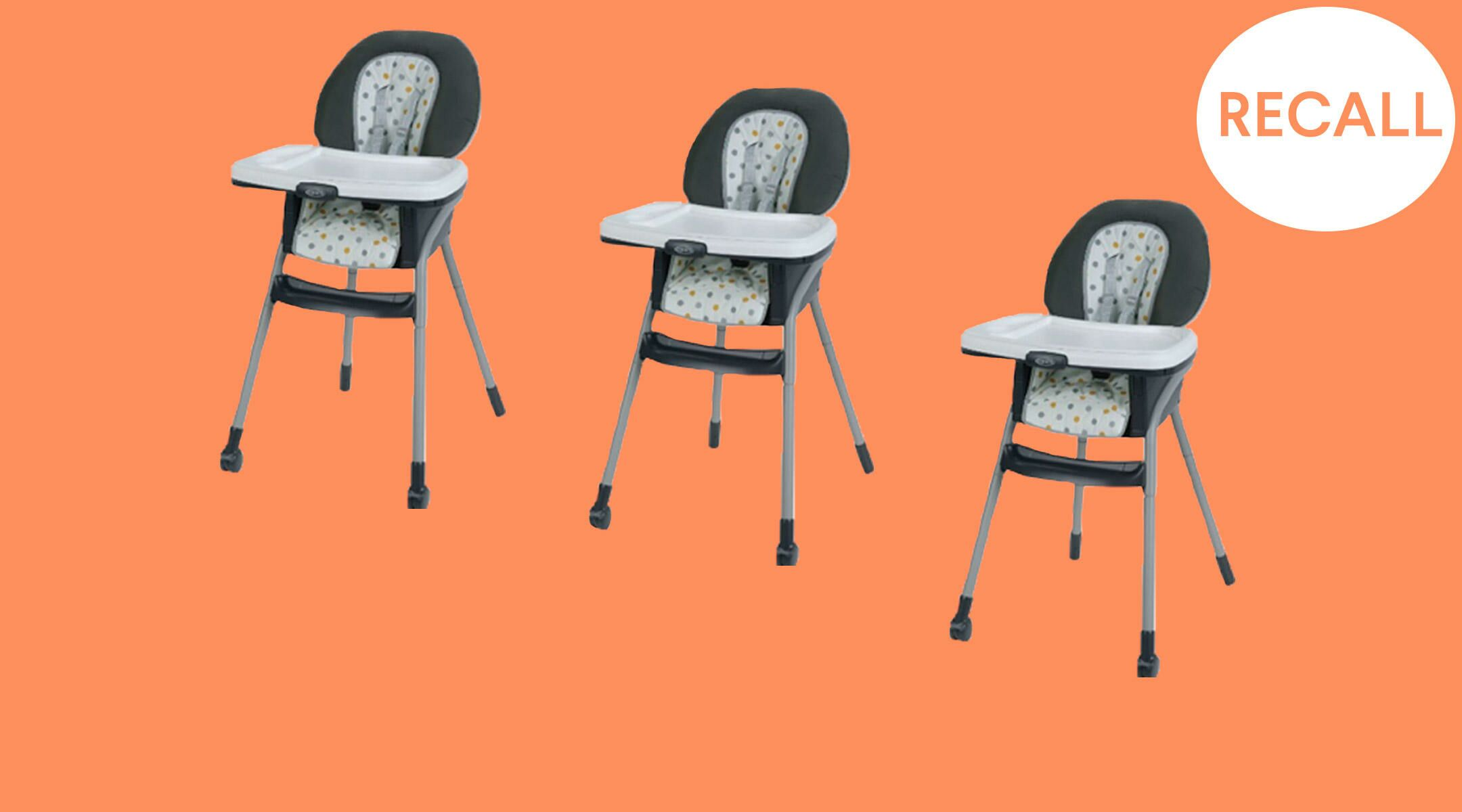 Graco Recalls Table2table 6 In 1 High Chairs