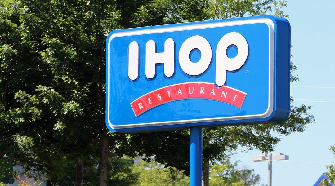 Large sign for IHOP