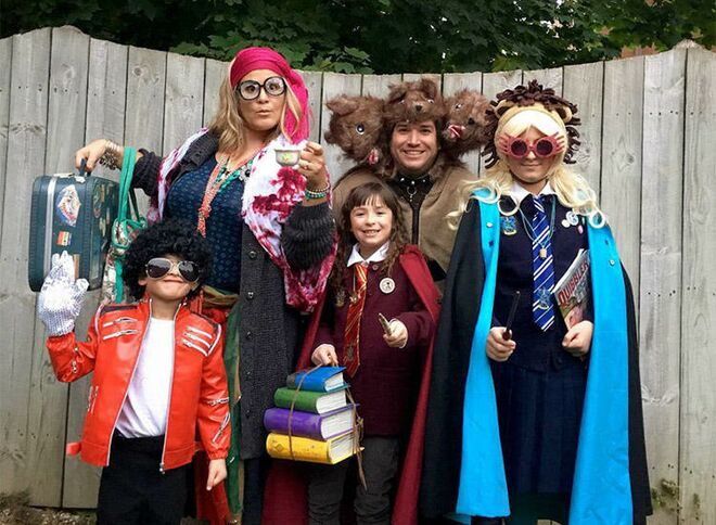 family halloween costume harry potter