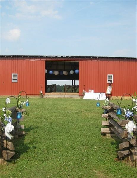 A Country Barn Wedding