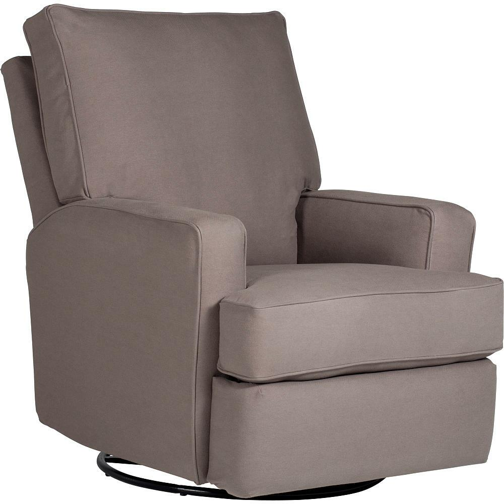 Kersey upholstered swivel glider recliner shadow from for Best quality upholstered furniture
