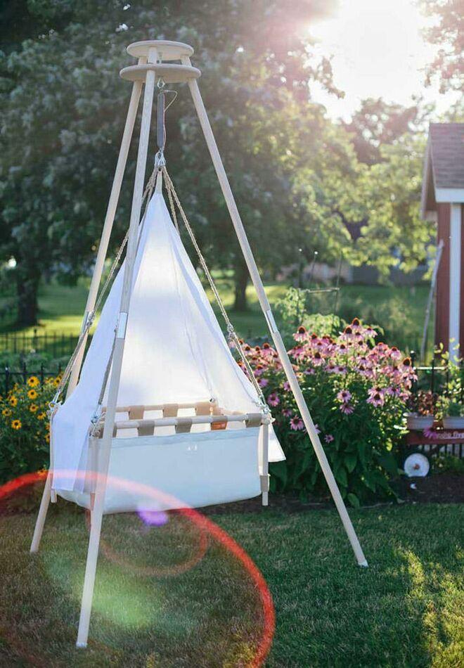 Kids Teepees Hussg Cradles Teepee Crib Stand