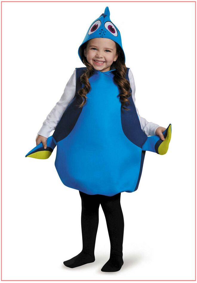 toddler-halloween-costume-cheap-dory  sc 1 st  The Bump & Best Toddler Halloween Costumes 2017