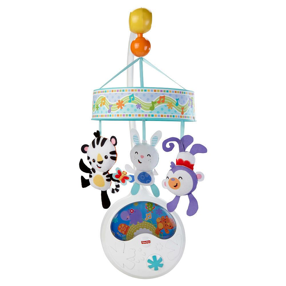 Fisher Price Sing Along Deluxe Musical Mobile From Fisher