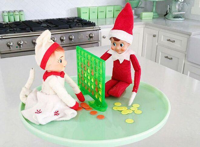 e50d3d66c9fc2 50 Fun Elf on the Shelf Ideas
