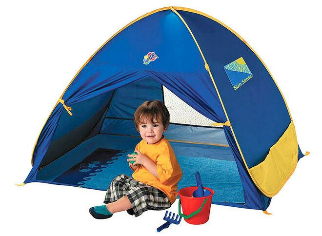 Schylling baby beach tent  sc 1 st  The Bump & Best Baby Beach Tents