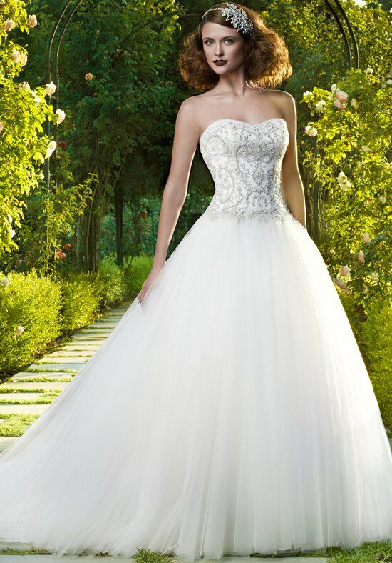 Casablanca bridal 2071 wedding dress the knot for Wedding dresses the knot