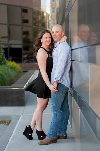 Suzanne Hurley and Ricky Stammer Wedding Photo 3