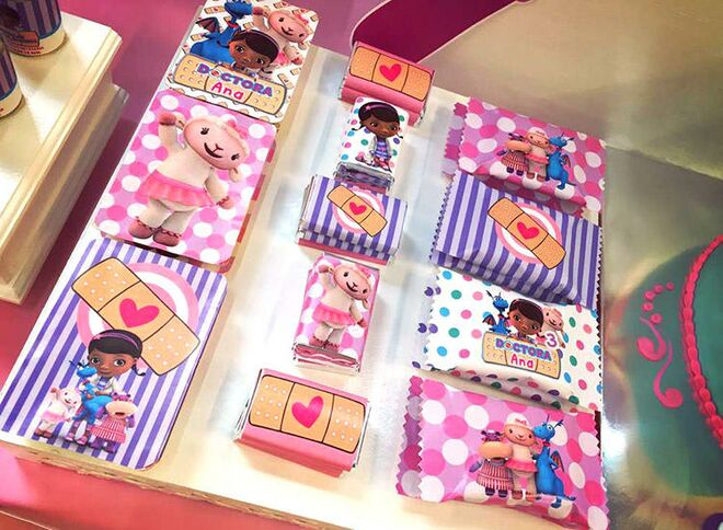 Doc Mcstuffins Themed Birthday Party