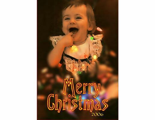 Cute Baby Holiday Card Ideas