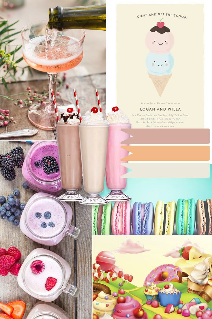 Sip and see party invitations menu ideas and more m4hsunfo