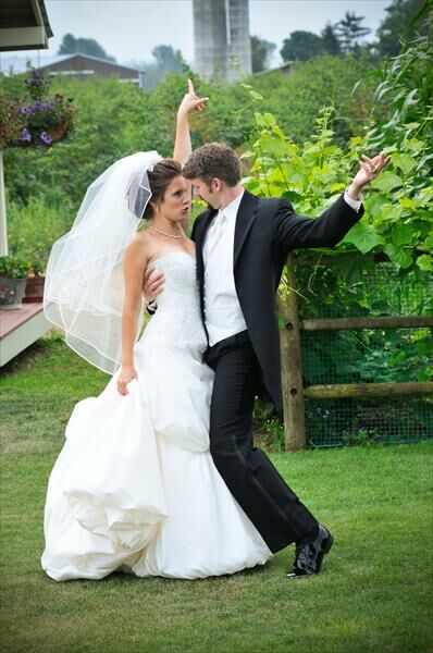 Andrew & Melissa Engstrom: The Famous Laughing Bride Wedding