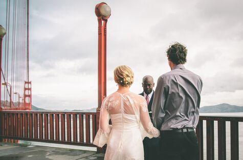 Golden Gate Bridge Elopement: Sheehan and Mackenzie