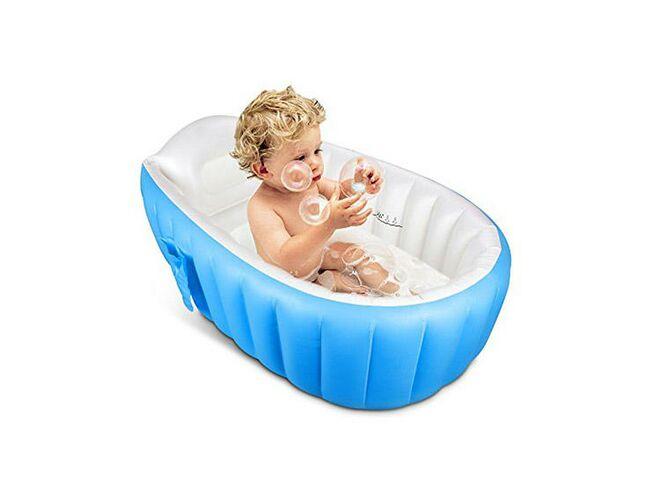 Toppist Portable Mini Air Inflatable Bathtub