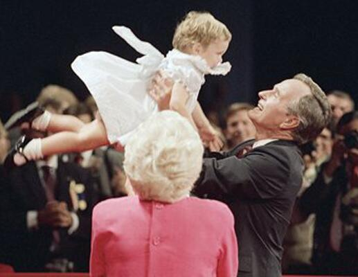 Presidents Holding Babies