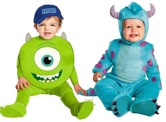 twin halloween costumes monsters inc