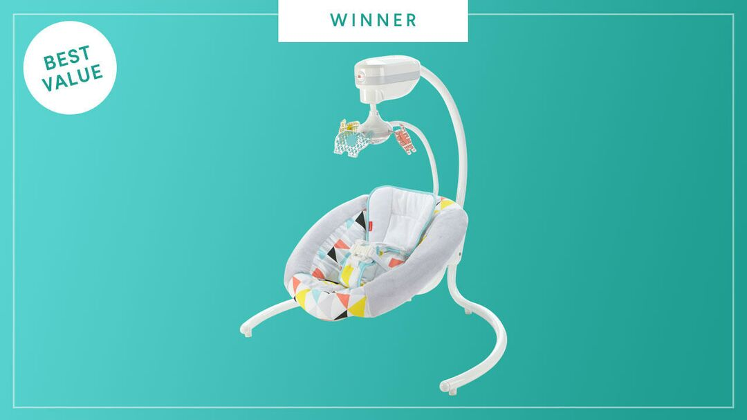 The Fisher-Price Revolve Swing wins the 2017 Best of Baby award from The Bump