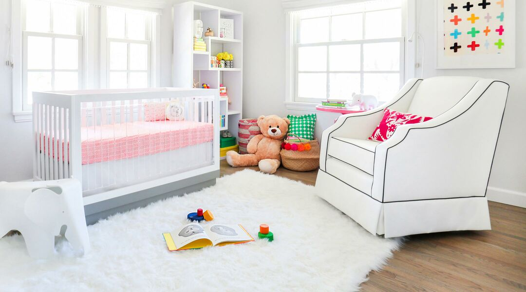 beautiful organized nursery