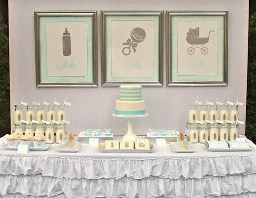 8 Hottest Baby Shower Themes for 2014