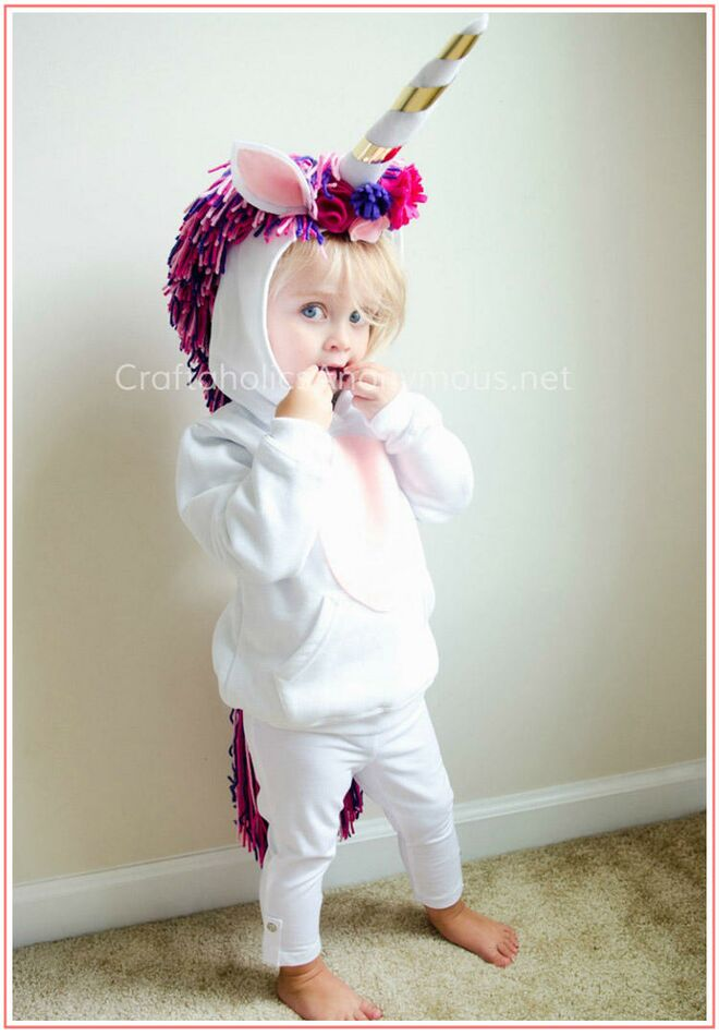 toddler-halloween-costume-diy-unicorn  sc 1 st  The Bump : play costumes for toddlers  - Germanpascual.Com