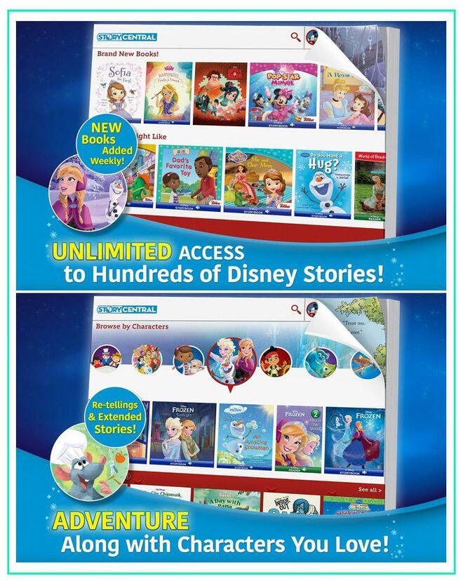 Toddler Apps Disney Story Central