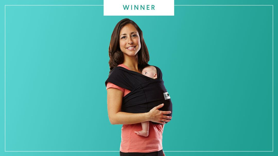 Baby K'tan Original Baby Carrier wins the 2017 Best of Baby Award from The Bump