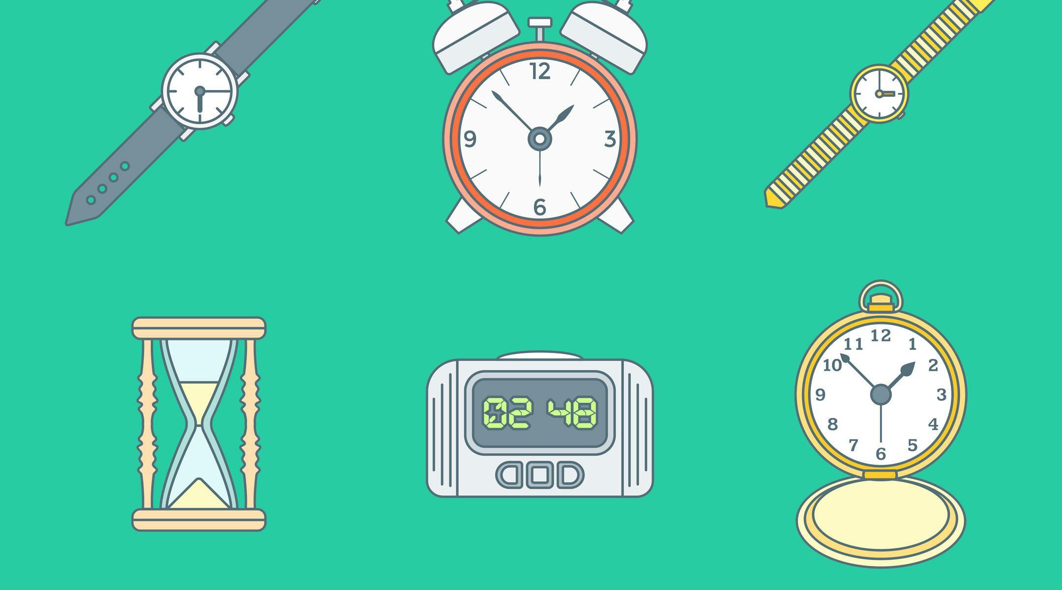schedule time clock watch