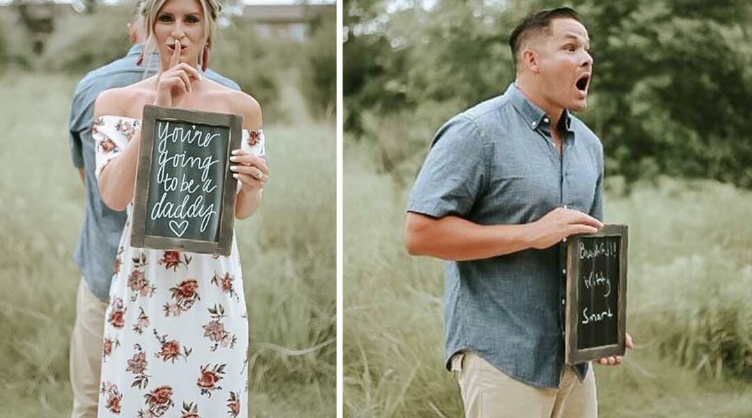 Surprise Pregnancy Announcement Photo Shoot
