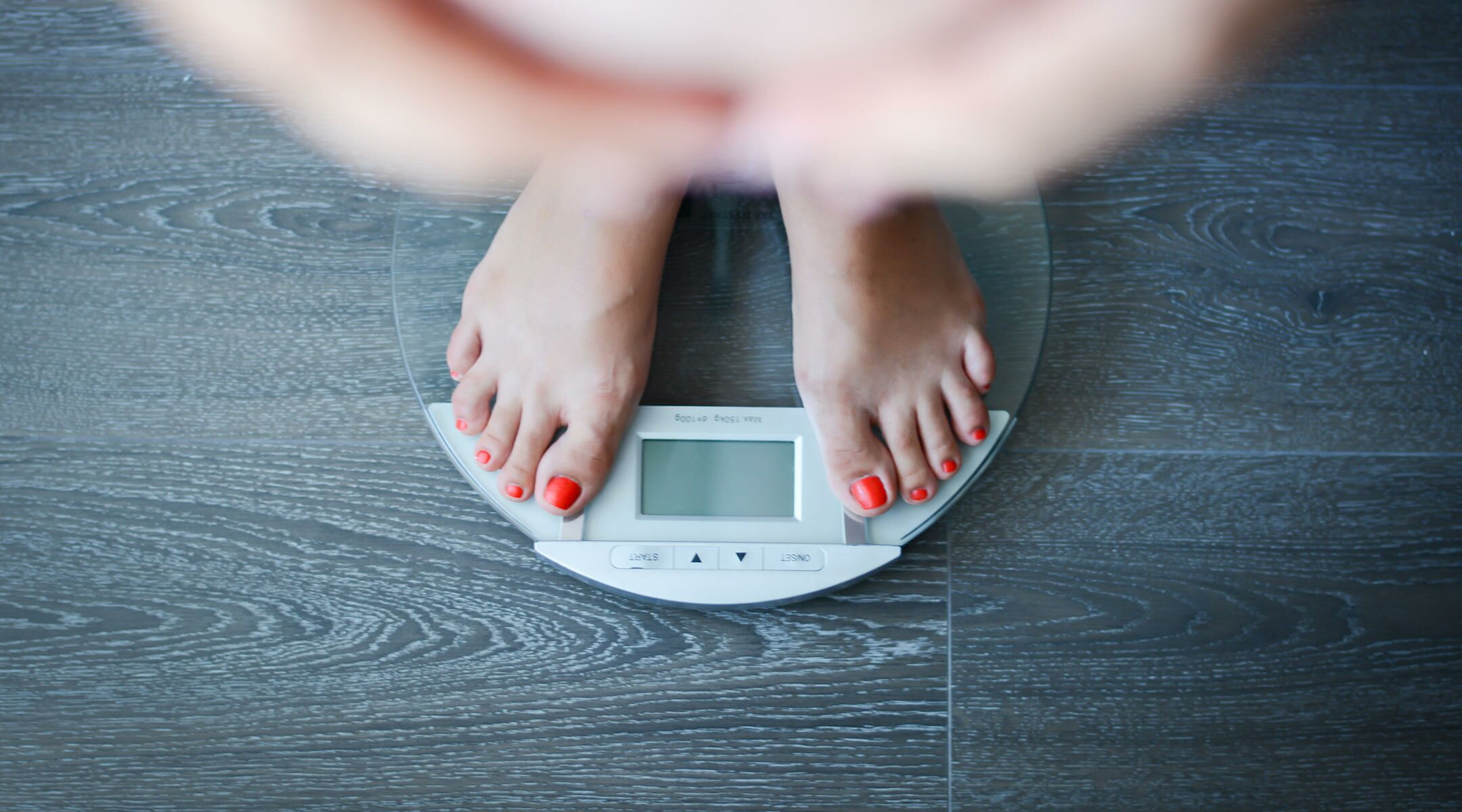 Where does all the pregnancy weight go pregnant woman standing on a digital scale nvjuhfo Choice Image