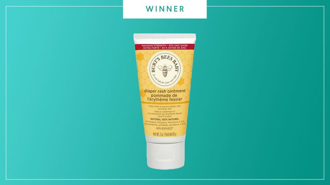 Burt's Bees Diaper Rash Ointment  wins the 2017 Best of Baby Award from The Bump