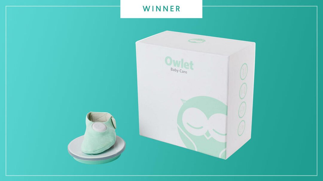 Owlet monitor wins the 2017 Best of Baby Tech Award from The Bump.