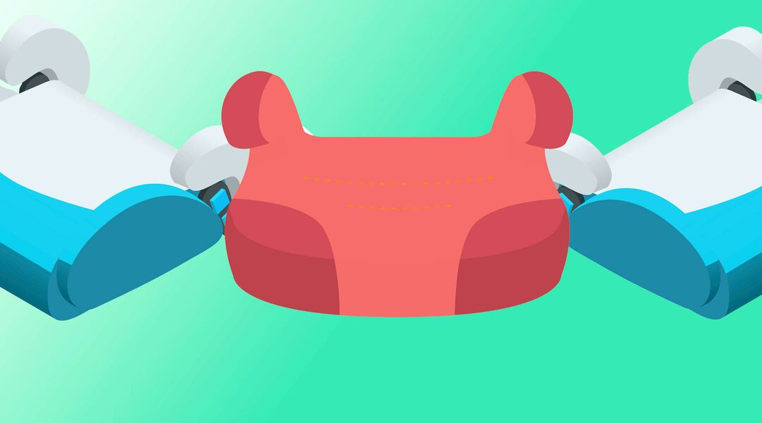 booster seat illustrations
