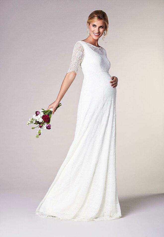 f9d802e826a Tiffany Rose Maternity evie maternity wedding gown