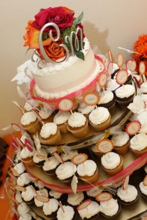 Pink & Orange Wedding