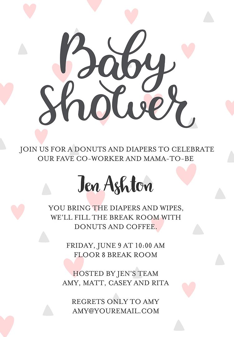 22 baby shower invitation wording ideas filmwisefo Images