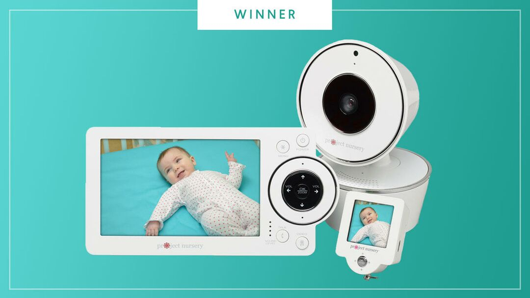 The Project Nursery Baby Monitor wins the 2017 Best of Baby award from The Bump