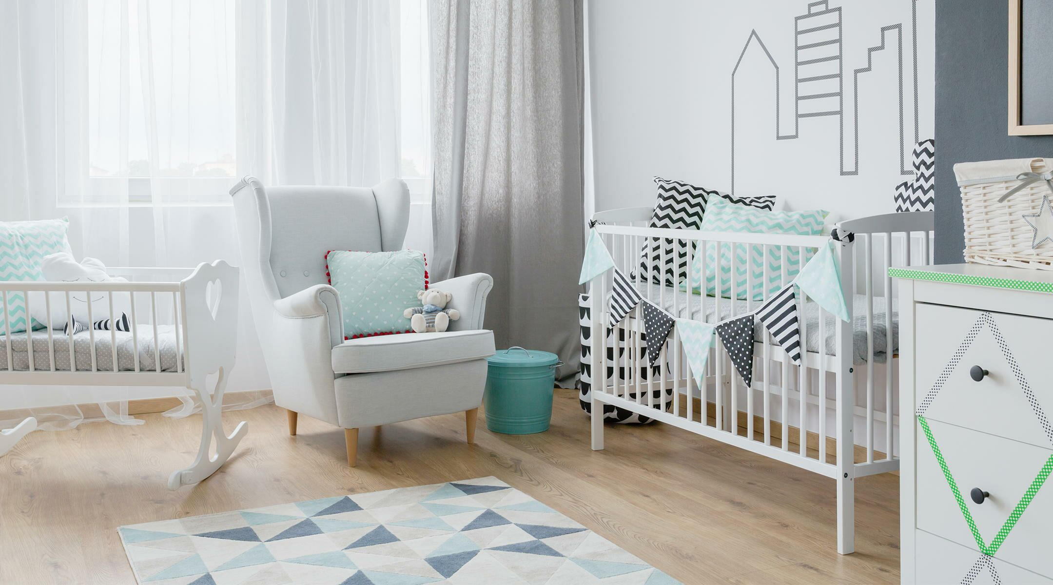 The ultimate nursery decorating checklist - Newborn baby room decorating ideas ...