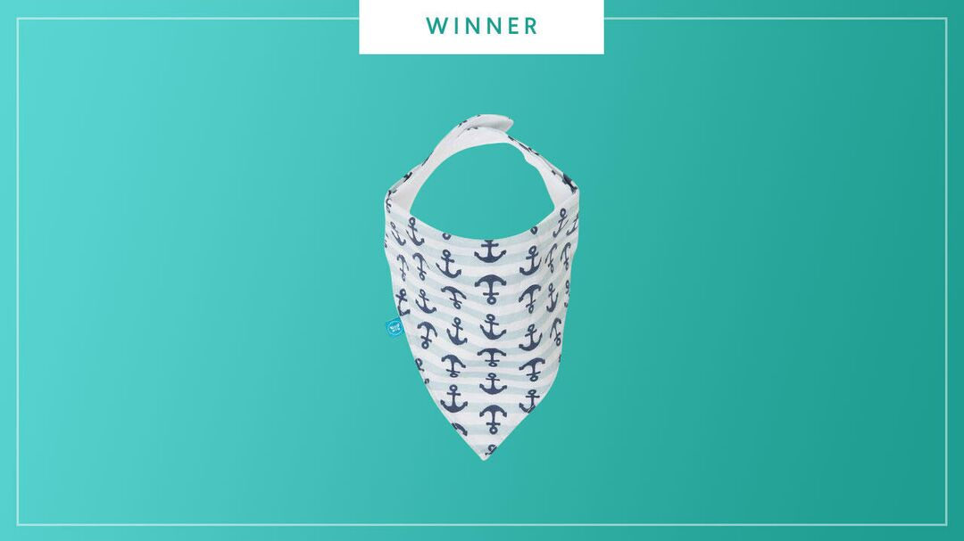 The Honest Company Magnetic Bandana Bib wins the 2017 Best of Baby Award from The Bump.