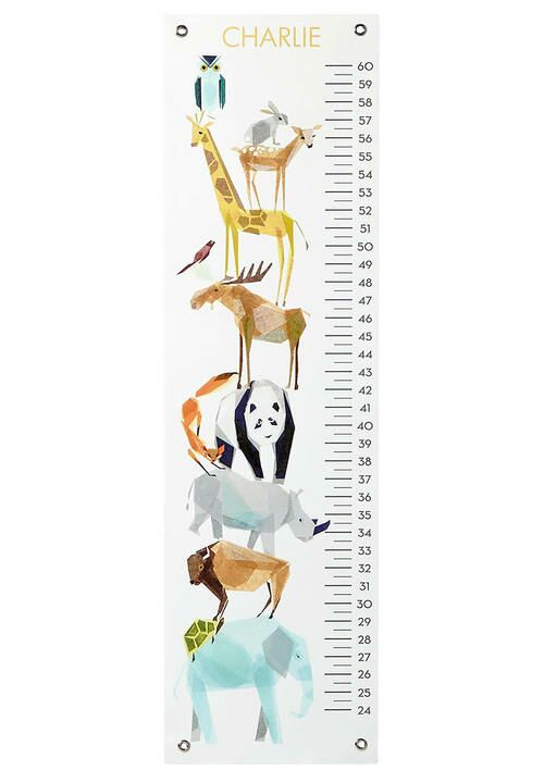 Tiny Fawn animal friends growth chart